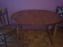 dining table 2 chear