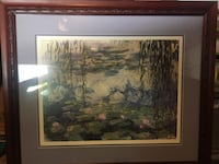 Custom Framed Monet Print Anaheim, 92806