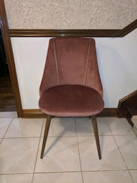 Dining Chair, dusty rose colour Whitchurch-Stouffville