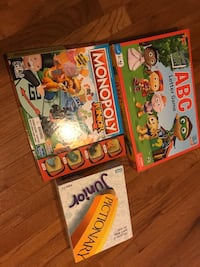 Children's board games Bristow, 20136