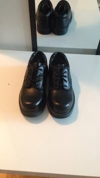 Pair of black leather dress shoes .size 9 .BREND .NEW Winnipeg, R2M 1K1