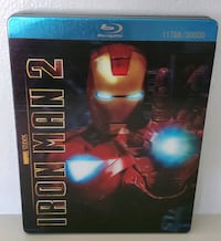Iron Man 2 lenticular steel case collector's edition Blu-ray