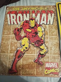 The Invincible Iron Man Marvel Comics poster Wilmington