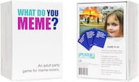 BRAND NEW what do you meme party game  Fairfield, 07004