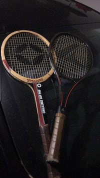 2 Tennis Racquets Spring, 77389