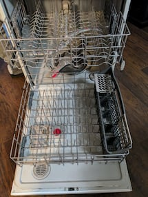 Kenmore dishwasher white