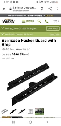Yj rock panels with side step Arden