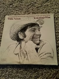 Vynle album Willie Nelson yesterday's wine Casper, 82601