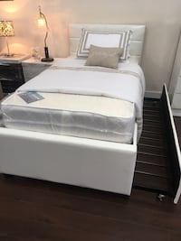 Full over twin trundle brand new no mattress  Hialeah Gardens