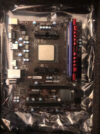 AMD CPU, Motherboard, and Memory