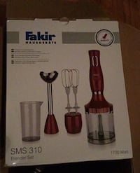 Fakir blender set