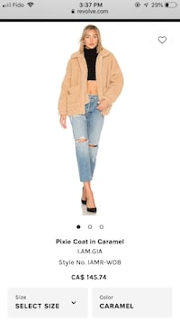 I.am.gia Pixie Coat - brand new with tags - size M