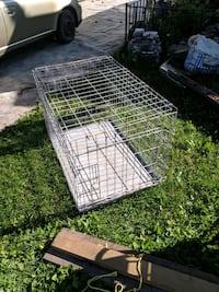 large animal cage with tray Niagara Falls, L2E 3K9