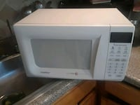 white General Electric microwave oven Brooklyn, 11221