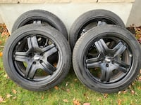 Tesla Model S set of 4 wheels and winter tires Montréal
