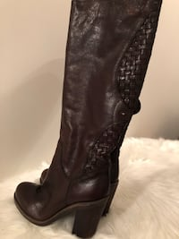 Ladies size 37 leather boots  Hamilton, L8B 0T1