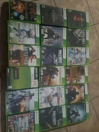 Xbox One game case lot New Port Richey, 34653
