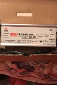 Power supply made by Mean Well Toronto, M8Y 1N6