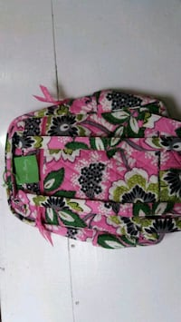 pink, green, and white floral Vera Bradley bag Honolulu, 96819