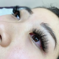 Volume lash extensions Burnaby