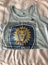 Orlando City Soccer adidas ladies tank top medium  Dunedin, 34698
