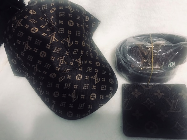 bec747dfb3cd1f Used Belt wallet and hat for sale in Dearborn Heights - letgo