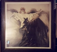1938 Louis Icart Waltzing Echoes Lithograph Charlotte, 28210