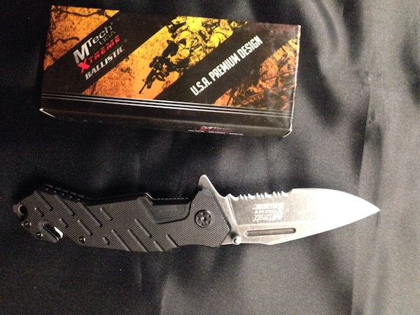 Spring Assist Pocket knife