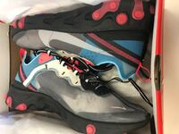Nike React Element 87 - size 11 - SOLAR RED / BLUE CHILL - DS Commerce, 90040
