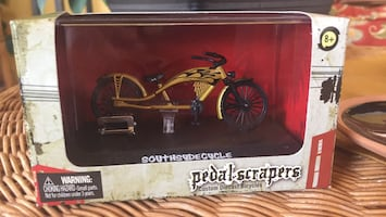 Pedal Scrapers Diecast Bicycle