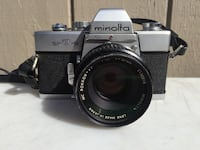Minolta SRT 101 With Rokkor PF f 50mm 1.7 lens