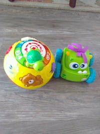 Toy, Wiggle and Crawl Ball and Car