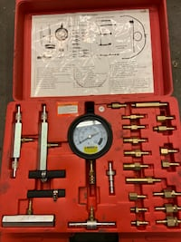 Fuel injector pressure kit