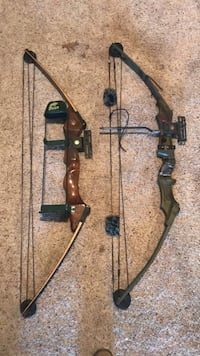 Two black and brown compound bows Frederick, 21701