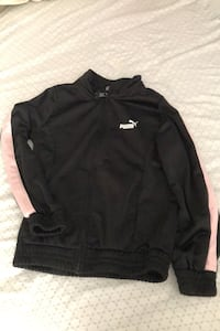 Black and pink puma zip-up sweater  Vaughan, L4H 0N3