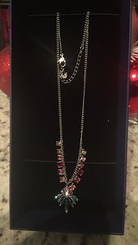 silver-colored necklace with clear gemstones Richmond Hill, L4C 1H7