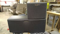 Sony Rear and center speakers