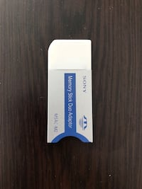 Sony Memory Stick Duo Adaptor