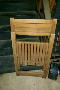 Outdoor Wooden Chair ( Only 1 ) Raleigh, 27609