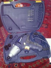 black and gray corded power tool Surrey, V3T 1P1