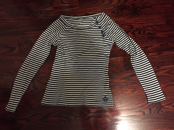 Small Jacob & Co. Striped long sleeve
