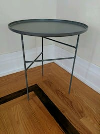 Grey accent table, Target Project 62 Detroit, 48216