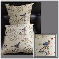 Silk Accent Pillows with Down Inserts (pair) Buda, 78610