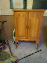 brown wooden cabinet with drawer Newark