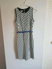 women's white and black sleeveless dress Edmonton, T5L