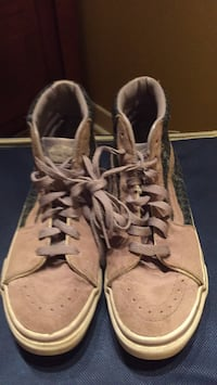 pair of brown leather work boots Gatineau, J8T 5N7