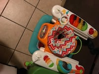 baby's white and green activity walker Salinas, 93905