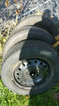 Trade or$4 lug tires & rims , ford ,honda &outhers Niles, 44446