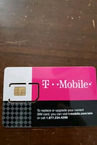 2 T-Mobile Sim cards Norfolk, 23503