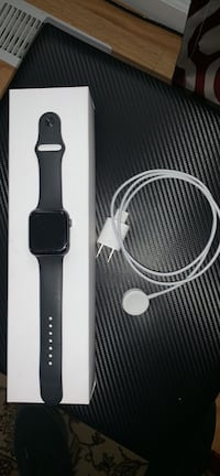 space black aluminum case Apple Watch with black sports band Clayton, 27520